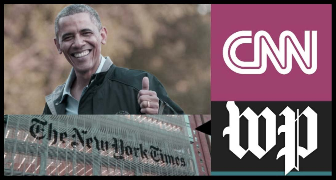 Obama & Media Collude to Hack Trump Transition