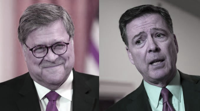 """Did U.S. Attorney General Barr Just Trade James Comey's """"Memogate"""" for""""Spygate""""?"""